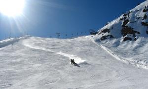 Ski sur piste
