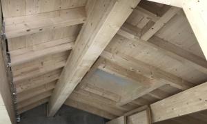 Inside Roof Chalet D